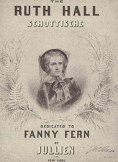 Sheet music cover honoring Fern Leaves from Fanny's Portfolio