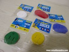 Merry Socks • Cabide para Meias - http://gostinhos.com/merry-socks-%e2%80%a2-cabide-para-meias/