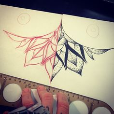Sternum tattoo, I want one! This is beautiful
