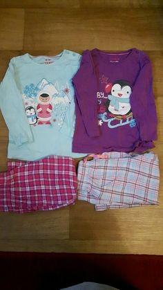 Kleinkind Mädchen Schlafanzug Winter