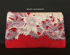 A Client's play on colour is inspiring in this HAZ Italian Lace&Chenille combination #mimpimatamoon #madeinmalaysia