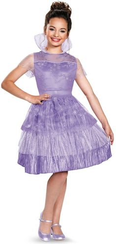 Disney's Descendants: Girls Deluxe Mal Coronation Costume from Buycostumes.com