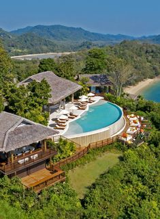 Thailand Beach Resorts, Luxury Beach Resorts, Hotels And Resorts, Best Hotels, Vacation Destinations, Vacation Spots, Places Around The World, Around The Worlds, Wonderful Places
