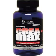 Ultimate Nutrition  Biovolumizing Crea/Max Capsules, 1000 mg, 144-Count Bottles * Continue to the product at the image link.