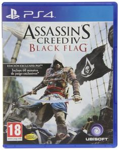 Assassin's Creed 4: Black Flag - Bonus Edition: playstation 4 #Videojuegos #PS4