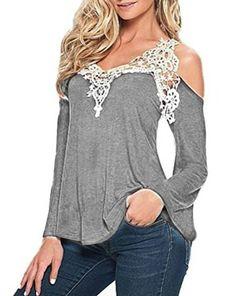 Myobe Women's Long Sleeve Loose Shirt Blouse Tops Best Sellers Gray - http://www.bestseller.ws/blog/clothing-shoes-jewelry/myobe-womens-long-sleeve-loose-shirt-blouse-tops-best-sellers-gray/