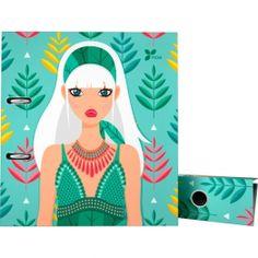 """Archivador de la nueva colección Noa 2017 en su serie """"Hojas"""".  #papeleria #materialescolar #materialdeoficina #Grafoplás #diseño #verde #chica"""