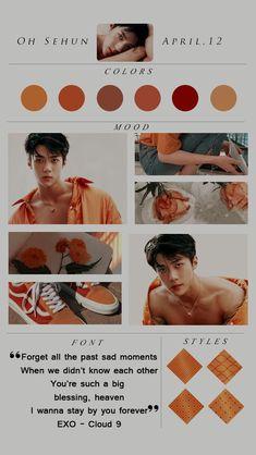 Beige Aesthetic, Kpop Aesthetic, Exo Kai, Chanyeol, Kpop Wallpaper, Sehun Cute, Exo Lockscreen, Kpop Exo, Aesthetic Wallpapers