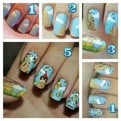 (Really most nail art is way too tough for civilians.) | 19 Pinterest Projects Ain't Nobody Got Time For