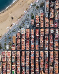 Hungarian photographer Márton Mogyorósy shares a new series of drone photos taken in Barcelona, which show the geometry of the urban environment. Photography Series, Aerial Photography, Travel Photography, Life Photography, Photography Ideas, Fotografia Drone, Magic Places, Barcelona Architecture, City Architecture