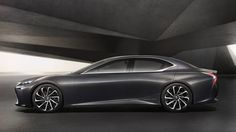 The Lexus LF-FC Concept is a dramatic new look at the next-generation Lexus LS luxury sedan. Lexus Ls 460, Lexus Lc, New Lexus, Future Concept Cars, Toyota, E Mobility, Tokyo Motor Show, Hydrogen Fuel, Exotic Cars