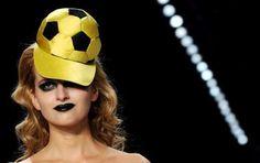 Berlin -fashion week Guido Maria Kretschmer creation for Puma.  Great! :-(