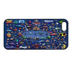 PIXAR ALL CARTOONS iPhone 4 4s Case Cover