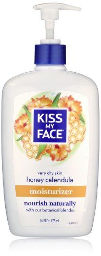 Kiss My Face Moisturizer HoneyCalendula 16 Fluid Ounce ** More info could be found at the image url.