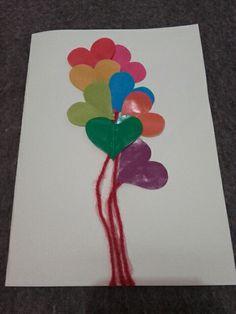 Cartão Dia dos Namorados. Esse fiz para meu noivo.