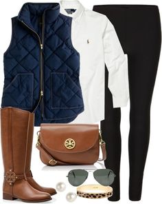 black pants brown boots outfits - Google Search