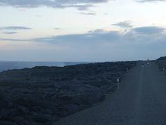Auf dem Weg zum Lava Viewing Point