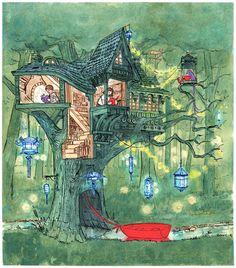 'Journey', a wordless beautiful children's book by Aaron Becker: http://aaronbeckerillustration.tumblr.com/