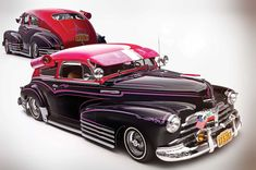 Martin Madrigal's 1948 Chevrolet Fleetline is a rolling tribute to the classic days of yesterday's Hollywood.