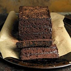 Chocolate Stack Loaf From Better Homes and Gardens, ideas and improvement projects for your home and garden plus recipes and entertaining ideas.