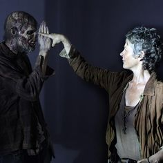 Proof walkers are harder to kill than we think! #melissamcbride #twd
