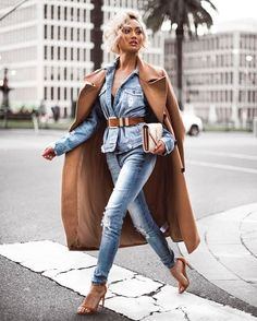 MaySociety — Street Style Look Collection From Micah Gianneli Denim Fashion, Love Fashion, Girl Fashion, Winter Fashion, Fashion Outfits, Womens Fashion, Style Fashion, Fall Outfits, Cute Outfits
