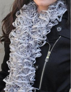 Lace or ruffle sashay Scarf by JessicaKay06 on Etsy