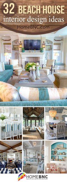 Beach House Interior Design Decorations