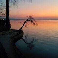 lake garda sunset