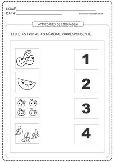 19 - Atividades para Maternal coordenação motora English Worksheets For Kindergarten, Spanish Teaching Resources, Toddler Learning Activities, Math Activities, Community Helpers Worksheets, Maternelle Grande Section, Home Schooling, Homeschool, Alice