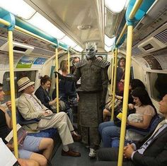 The Night King's other mode of transportation, Game of Thrones.