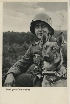 """Two good Friends"" Germany ~1940"