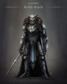 Robb Stark by JoseArias