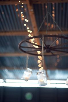 Love this...I had an idea to make lighting fixtures out of ball jars and old glass...love it as an outdoor candle holder!