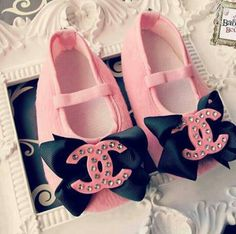Baby Chanel shoes