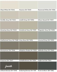 Sw Ethereal Mood Paint Card Oyster White For Brick Jogging