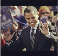 #barack obama #sign language