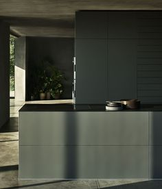 Kitchen Decoration: Color Trends and Ideas 2019 - Home Fashion Trend Loft Kitchen, Home Decor Kitchen, Interior Design Kitchen, Small American Kitchens, System Kitchen, Stainless Kitchen, Minimal Kitchen, Kitchen Stories, Kitchen Models