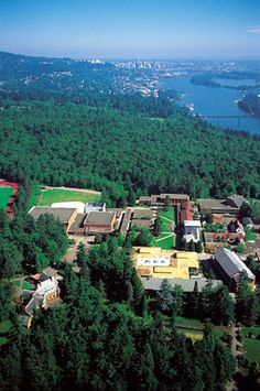 Lewis and Clark College...Where I'm going for law school. So gorgeous :)
