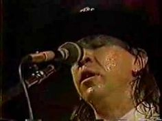 """SRV and band playing """"Voodoo Child"""", the hat, the feather, the bolo tie, the sweat, its classic Stevie and he plays it better here than Jimi does in my opinion."""