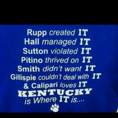 Kentucky Basketball | KENTUCKY BASKETBALL!!! | Kentucky Girl... University Of Ky, Uk Basketball, Kentucky Basketball, My Old Kentucky Home, Kentucky Girls, Kentucky Sports, Kentucky Wildcats, Southern Pride, Southern Belle
