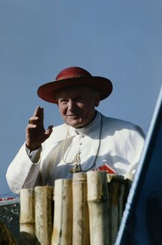 A visit by Pope John Paul II to Guatemala, March 1983.