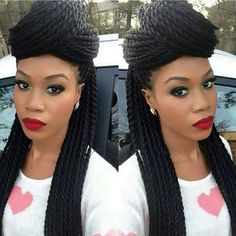 Black Hair Braid Twist Styles Different Natural Hair Styles**  Hair  Pinterest  Hair Style .