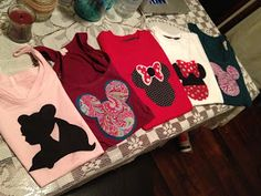 DIY Easy Disney Shirts!