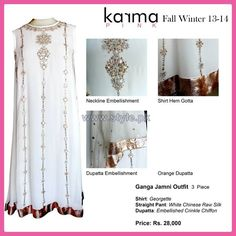 Karma Pink Fall Winter Dresses 2014 For Girls Pictures
