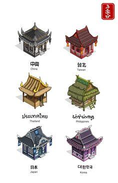 Architecture in Asia...
