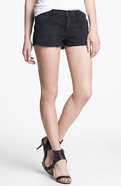 J Brand Distressed Cutoff Jean Shorts (Alley Cat) | Nordstrom