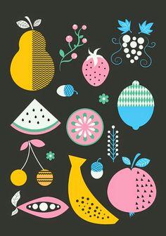 print & pattern: WALL ART - mleko