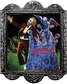 Beetlejuice Lenticular - Decorations  - Spirithalloween.com