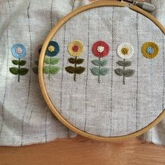 Handcrafting a satin stitch flower embroidery may well be a lost art in the near future. However, this is a skill that anyone can practice and learn and make beautiful embroidery handpieces for all occasions. Hand Embroidery Stitches, Embroidery Hoop Art, Embroidery Applique, Cross Stitch Embroidery, Embroidery Patterns, Flower Embroidery, Embroidery Books, Embroidery Scissors, Embroidery Jewelry